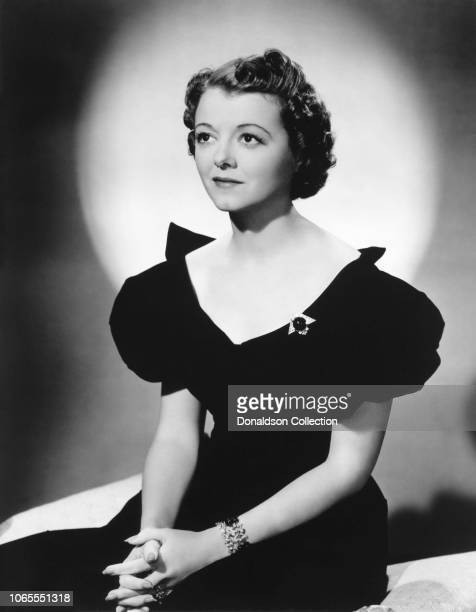 Actress Janet Gaynor in a scene from the movie A Star Is Born