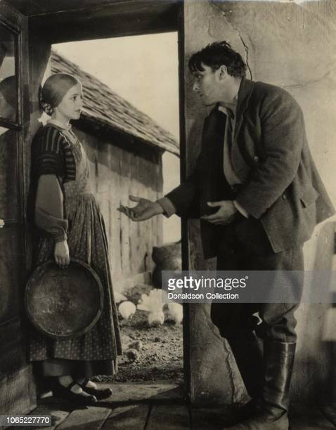 Actress Janet Gaynor in a scene from the movie Sunrise A Song of Two Humans