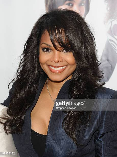 Actress Janet Jackson attends the special screening of 'Why Did I Get Married Too' at the School of Visual Arts Theater on March 22 2010 in New York...