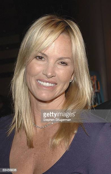 Actress Janet Jones atttends the world premiere of Dirty Deeds at the Directors Guild of America on August 23 2005 in Los Angeles California