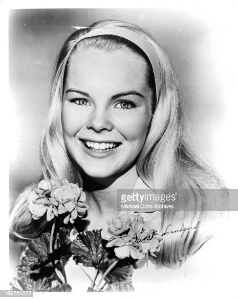 Actress Janet Landgard poses for a portrait in circa 1962