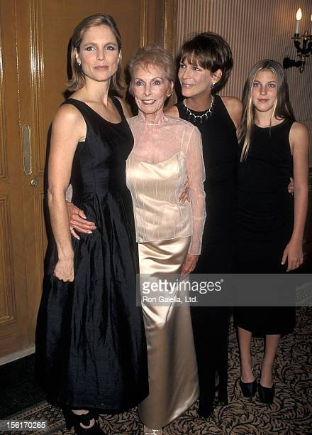 Actress Janet Leigh daughter Kelly Curtis actress Janet Leigh and daughter Annie Guest attend the University of the Pacific's Pantheon of the Arts...