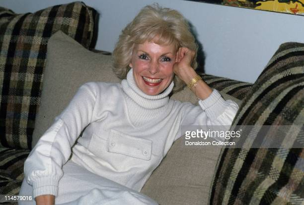 Actress Janet Leigh poses for a portrait in 1984 in Los Angeles California