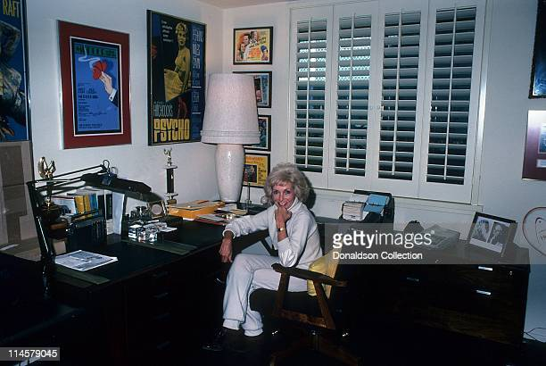 Actress Janet Leigh poses for a portrait in December 1978 in Los Angeles California