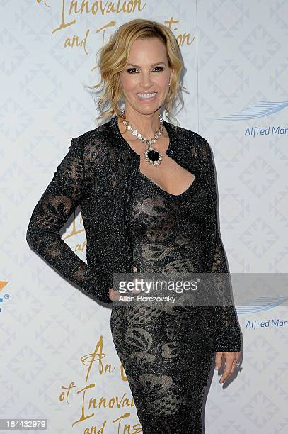 Actress Janet Marie Gretzky attends the 10th annual Alfred Mann Foundation Gala at 9900 Wilshire Blvd on October 13 2013 in Beverly Hills California