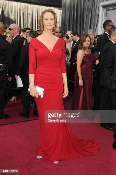 Actress Janet McTeer arrives at the 84th Annual Academy Awards held at the Hollywood Highland Center on February 26 2012 in Hollywood California