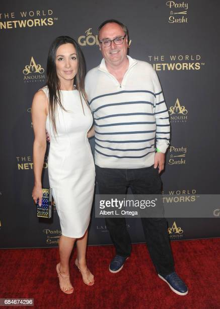 Actress Janet Roth and Steve Owens arrive for The World Networks Presents Launch Of The Goddess Empowered held at Brandview Ballroom on May 17 2017...