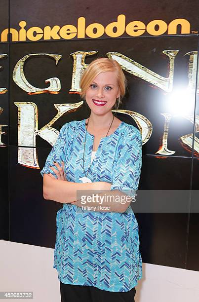 Actress Janet Varney attends the Legend of Korra signing at the 2014 San Diego ComicCon International Day 3 on July 25 2014 in San Diego California