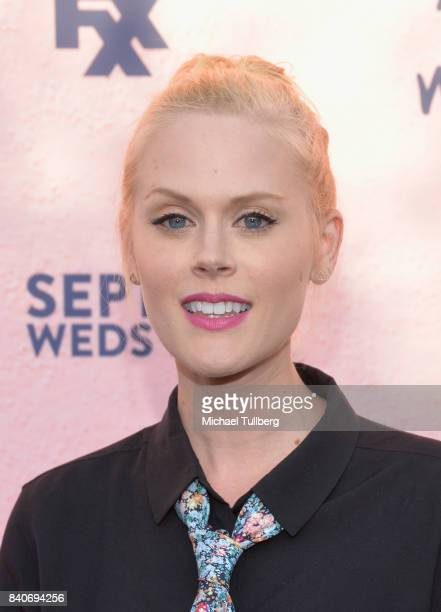 Actress Janet Varney attends the premiere of Season 4 of FXX's You're The Worst at Museum of Ice Cream LA on August 29 2017 in Los Angeles California