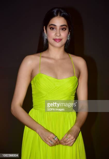 Actress Janhvi Kapoor attend the 20th anniversary celebration of film 'Kuch Kuch Hota Hai' at hotel JW Marriott Juhu in Mumbai