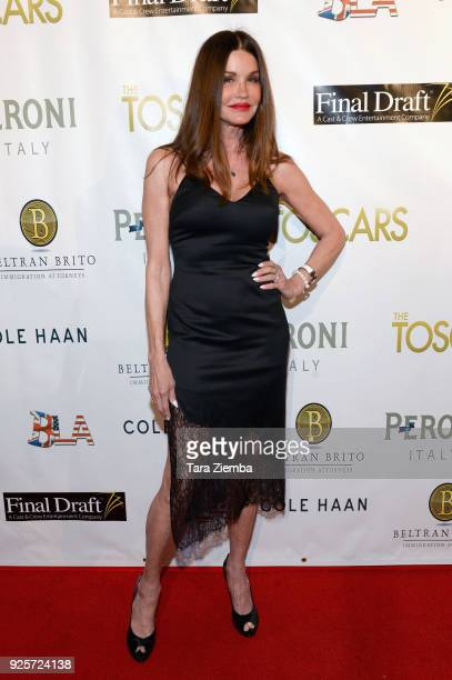 Actress Janice Dickinson attends The 2018 Toscars at The Renberg Theatre on February 28 2018 in Los Angeles California