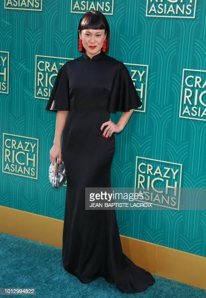 Actress Janice Koh attends the premiere of Warner Bros Pictures' 'Crazy Rich Asians' in Hollywood California on August 7 2018