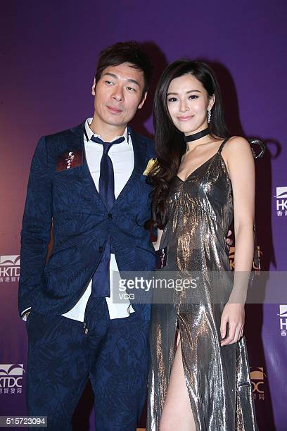 Actress Janice Man and actor Andy Hui ChiOn attend the press conference of director Herman Yau's film Nessun Dorma during the 20th Hong Kong...