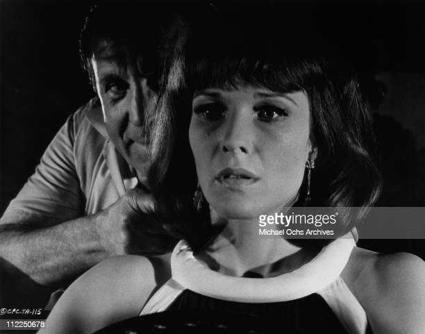 Actress Janice Rule in a scene from the Matt Helm movie 'The Ambushers' in 1967 in New York City New York