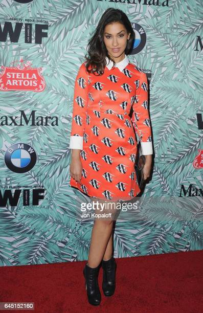 Actress Janina Gavankar arrives at the 10th Annual Women In Film PreOscar Cocktail Party at Nightingale Plaza on February 24 2017 in Los Angeles...
