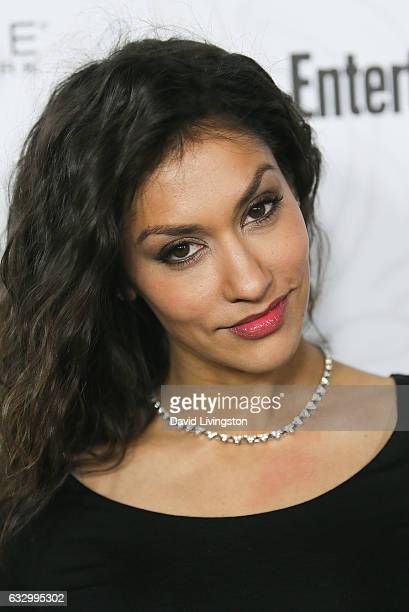 Actress Janina Gavankar arrives at the Entertainment Weekly celebration honoring nominees for The Screen Actors Guild Awards at the Chateau Marmont...