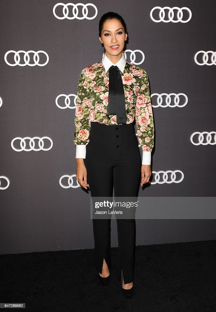 Actress Janina Gavankar attends the Audi celebration for the 69th Emmys at The Highlight Room at the Dream Hollywood on September 14, 2017 in Hollywood, California.