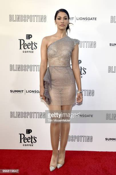 Actress Janina Gavankar attends the premiere of Summit Entertainment's Blindspotting at The Grand Lake Theater on July 11 2018 in Oakland California