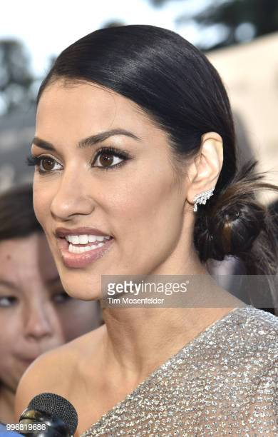 Actress Janina Gavankar attends the premiere of Summit Entertainment's 'Blindspotting' at The Grand Lake Theater on July 11 2018 in Oakland California