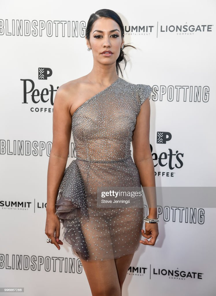 Actress Janina Gavankar attends the Premiere of Summit Entertainment's 'Blindspotting' at The Grand Lake Theater on July 11, 2018 in Oakland, California.
