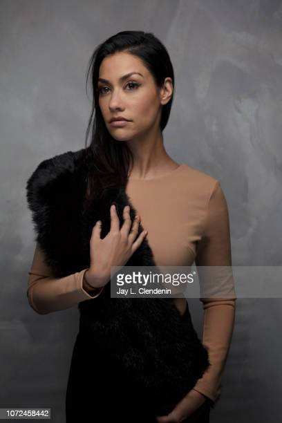 Actress Janina Gavankar from Blindspotting is photographed for Los Angeles Times on January 19 2018 in the LA Times Studio at Chase Sapphire on Main...