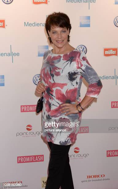 Actress Janina Hartwig arrives at discotheque P1 for the event Movie meets Media of the Munich Film Festival in Munich Germany 01 July 2013 The film...