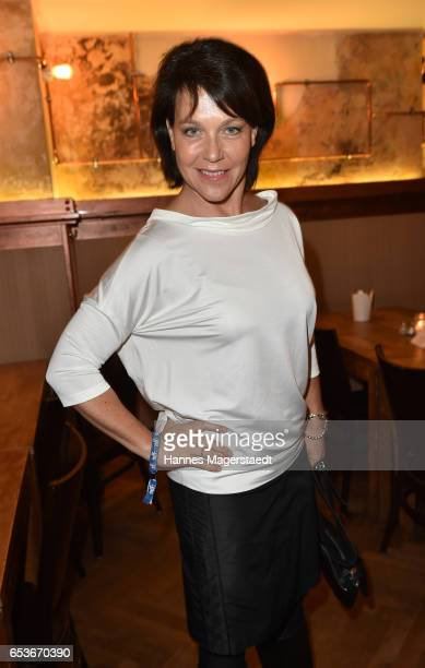 Actress Janina Hartwig during the NdF after work press cocktail at Parkcafe on March 15 2017 in Munich Germany