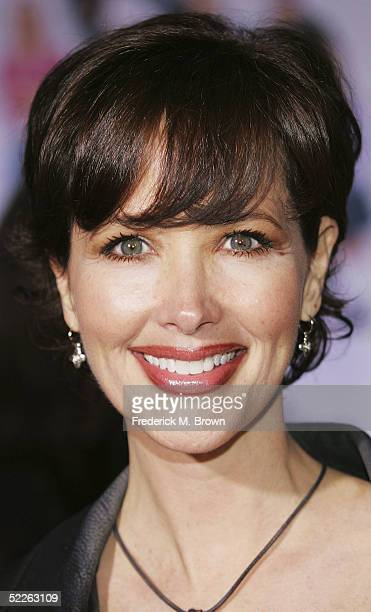 Actress Janine Turner attends the film premiere of The Pacifier at the El Capitan on March 1 2005 in Hollywood California