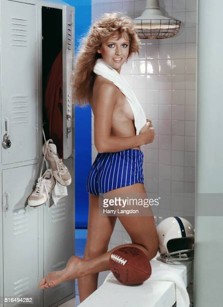 Actress Janis Farley poses for a portrait in 1984 in Los Angeles California