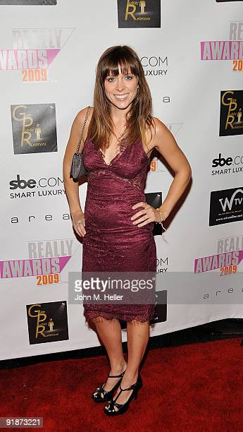 Actress Janna Beth attends the 2009 Really Awards official after party at Area on October 13 2009 in Los Angeles California