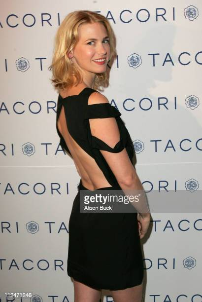 Actress January Jones at Kari Feinstein Golden Globes Style Lounge Luncheon held at Zune LA on January 8 2009 in Los Angeles California