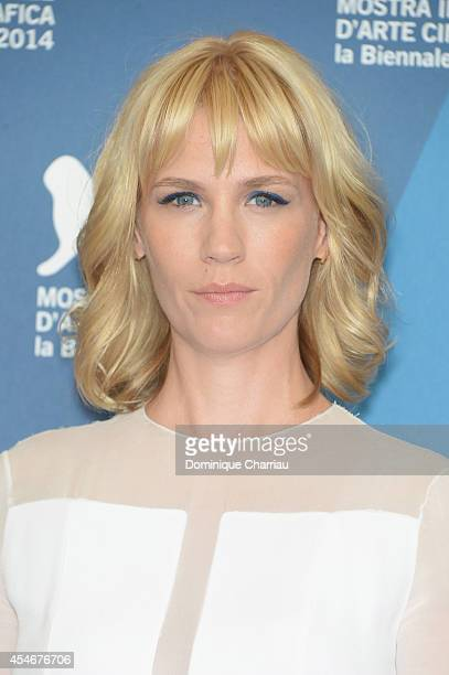 Actress January Jones attends 'Good Kill' Photocall during the 71st Venice Film Festival at Palazzo Del Casino on September 5 2014 in Venice Italy