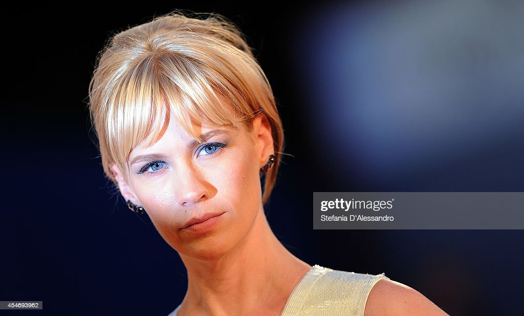 Actress January Jones attends 'Good Kill' Premiere during the 71st Venice Film Festival on September 5, 2014 in Venice, Italy.