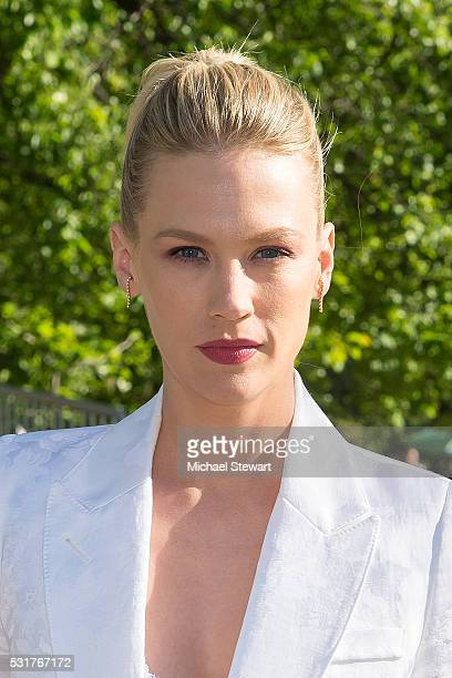 Actress January Jones attends the 2016 FOX Network Upfront at Wollman Rink Central Park on May 16 2016 in New York City