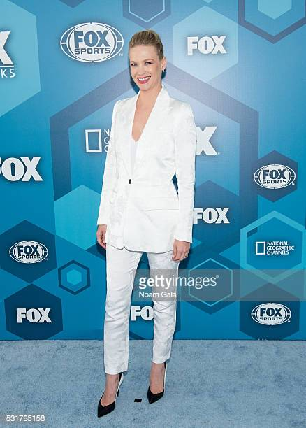 Actress January Jones attends the 2016 Fox Upfront at Wollman Rink Central Park on May 16 2016 in New York City