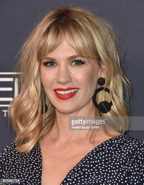 Actress January Jones attends the 2017 Baby2Baby Gala at 3LABS on November 11 2017 in Culver City California