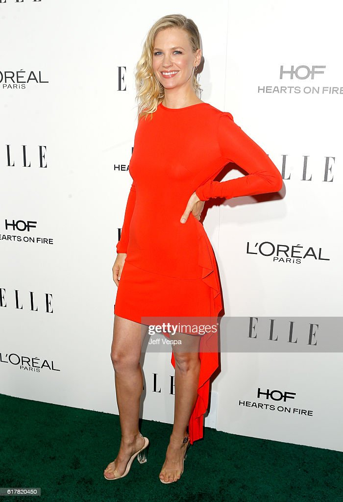 Actress January Jones attends the 23rd Annual ELLE Women In Hollywood Awards at Four Seasons Hotel Los Angeles at Beverly Hills on October 24, 2016 in Los Angeles, California.