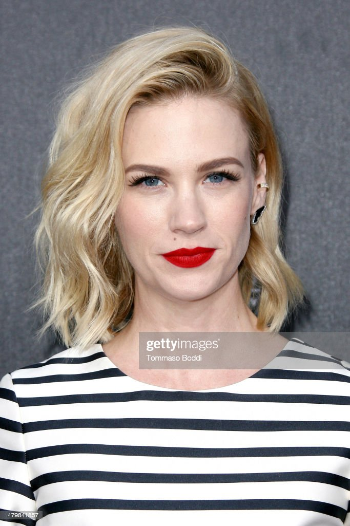 Actress January Jones attends the 2nd annual Rebel With a Cause Gala held at the Paramount Studios on March 20, 2014 in Hollywood, California.