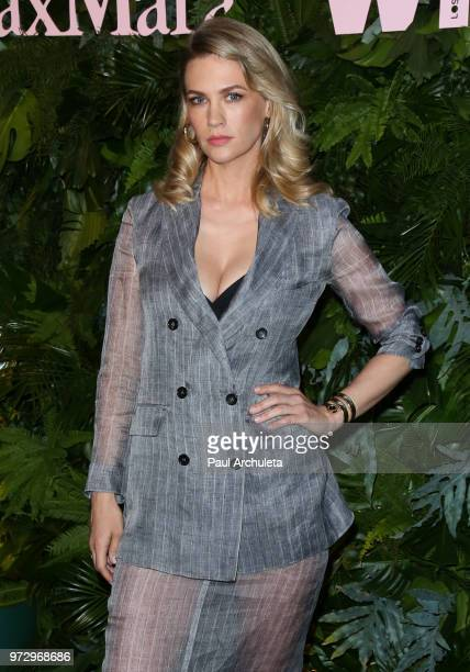 Actress January Jones attends the Max Mara WIF Face Of The Future event at the Chateau Marmont on June 12 2018 in Los Angeles California