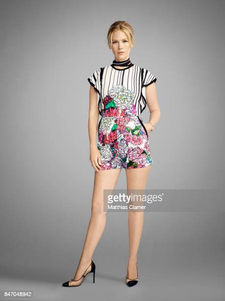 Actress January Jones from 'The Last Man on Earth' is photographed for Entertainment Weekly Magazine on July 23 2016 at Comic Con in the Hard Rock...