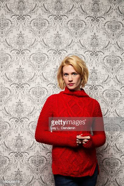 Actress January Jones is photographed at the Sundance Film Festival for Los Angeles Times on January 22 2013 in Park City Utah PUBLISHED IMAGE CREDIT...