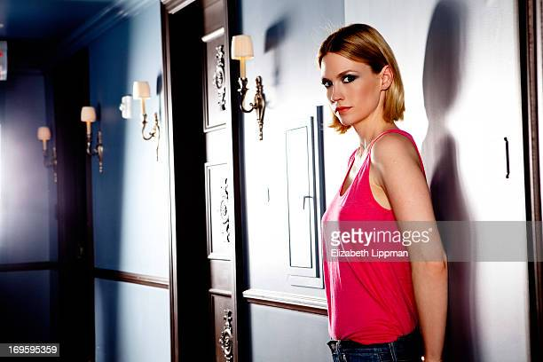Actress January Jones is photographed for New York Times on April 24 2013 in New York City PUBLISHED IMAGE