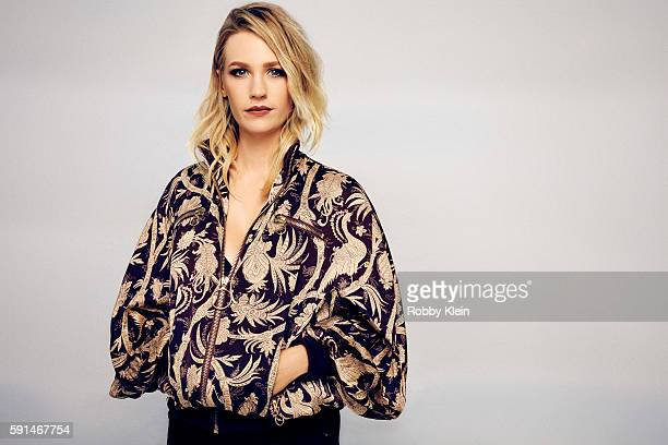 Actress January Jones of FOX's 'The Last Man on Earth' poses for a portrait at the FOX Summer TCA Press Tour at Soho House on August 9 2016 in Los...