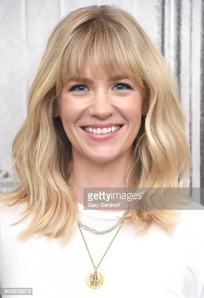 Actress January Jones visits Build Series to discuss the Fox comedy series 'The Last Man on Earth' at Build Studio on April 12 2018 in New York City