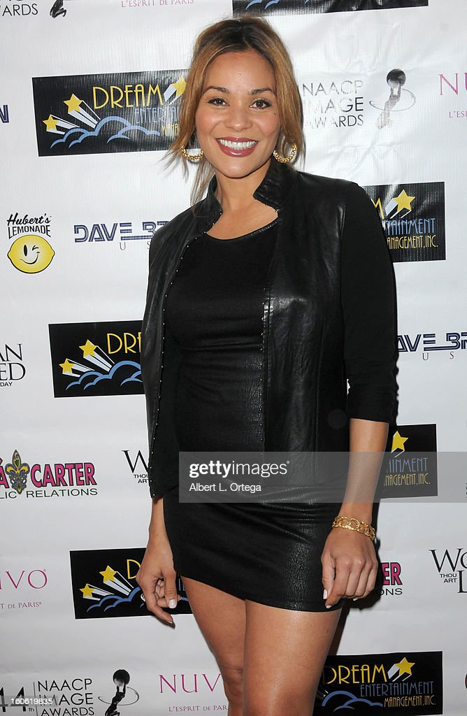 Actress Jaqueline Fleming arrives for the NAACP Image Awards Nomination Party featuring 'Woman Thou Art Loosed On THe 7th Day' for Best Independent Motion Picture held at Smoke on January 26, 2013 in West Hollywood, California.