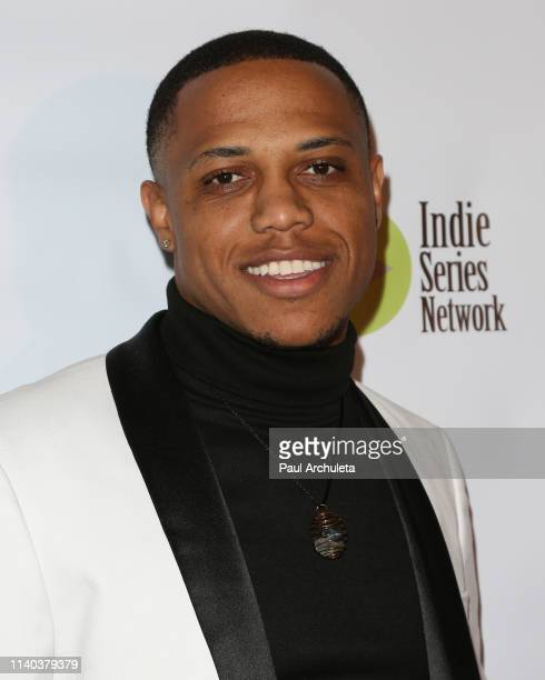 Actress Jarric Tucker attends the 10th Annual Indie Series Awards at The Colony Theater on April 03 2019 in Burbank California