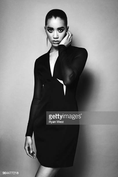 Actress Jasmin Savoy Brown is photographed in April 2016 in Los Angeles California