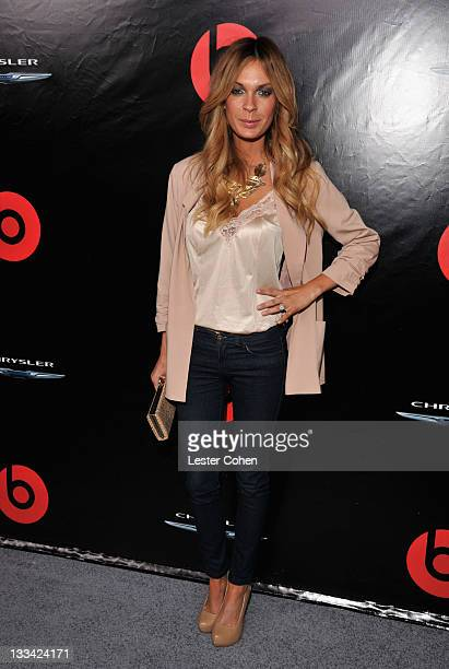 Actress Jasmine Dustin attends Chrysler Presents The 2012 300s With Beats By Dr Dre at Lexington Social House on November 15 2011 in Hollywood...