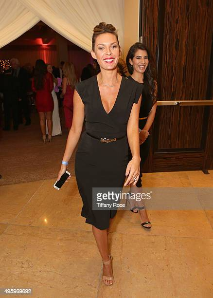 Actress Jasmine Dustin attends Friends Of The Israel Defense Forces Western Region Gala at The Beverly Hilton Hotel on November 5 2015 in Beverly...
