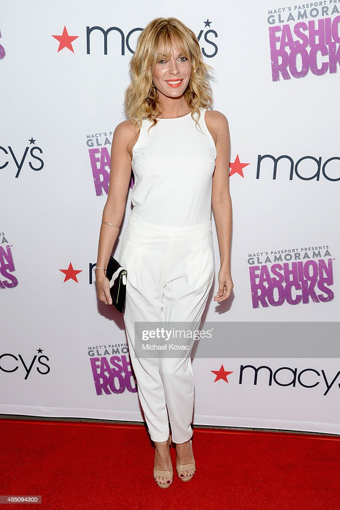 Actress Jasmine Dustin attends Glamorama 'Fashion Rocks' presented by Macy's Passport at Create Nightclub on September 9, 2014 in Los Angeles, California.